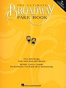 ULTIMATE BROADWAY FAKE BOOK 5TH SHEET MUSIC SONG BOOK