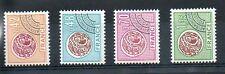 Serie des timbres Préoblitérés N° YT 134 à 137 neufs **