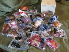 mcdonald's disney star wars lil pony little smurf 29 pc. lot 5 fast food toys