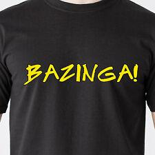 Bazinga big bang tv movie zing humor bang vintage penny sexy retro Funny T-Shirt