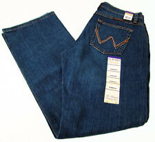 Wrangler Q-BABY tuff buck mid rise boot cut Womens Jeans WRQ20TB Size 11/12 x 34