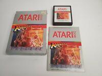 Raiders of the Lost Ark (Atari 2600, 1982) Complete Cartridge Manual Box