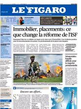 Le Figaro 23.8.2017 n°22716*PSYCHIATRIE & TERRORISME**BRACONNAGE**TRUMP en FORCE
