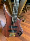 Tune Technology Bass Guitar Model TWB Walnut Top  for sale