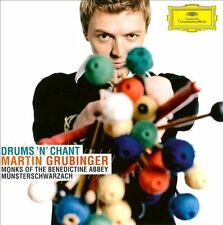 Drums 'n' Chant - Martin Grubinger New & Sealed Compact Disc new