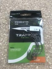 Trapper Tackle Offset Wide Gap X Heavy Hook Style#11440 Size 4/0