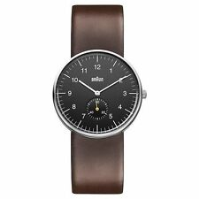 Braun Mens Black Brown BN0024BKBRG Watch - 25 off