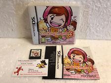 Jeu Vidéo Cooking Mama 3 DS / LITE DSI XL 3DS Complet Nintendo 505 Games VF 4