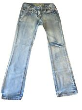 Mens TIMEZONE Jamie Rough Jeans W32 L32 Excellent Condition Free shipping