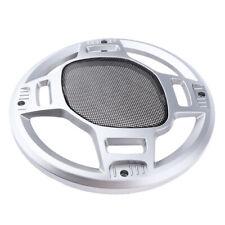 "8"" inch Plating Car Speaker Cover Tweeter Grille Metal Mesk Grills Grille"
