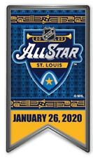 "2020 ALL STAR PIN ST. LOUIS BLUES 1.5"" BANNER STYLE STANLEY CUP FINAL OVECHKIN"