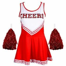 Women's Cheerleader Complete Outfits