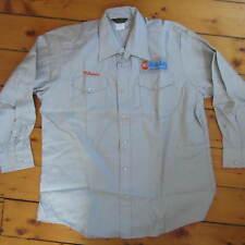 vintage XL 80s SHIPLEY HUMBLE GOODLING Gas Oil Co. Protexall Work Shirt York PA