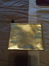 New- Ipsy Gold Glitter Makeup Bag