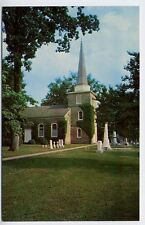 EDENTON NC St. Paul's Parish Church Cemetery Tombstones Graveyard d postcard