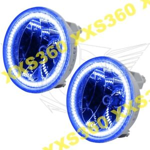 ORACLE Halo FOGLIGHTS GMC Yukon Denali 07-13 BLUE LED Angel Eyes