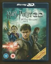 HARRY POTTER AND DEATHLY HALLOWS PART 2 - 3D & 2D  promo 3D BLU-RAY new/unplayed