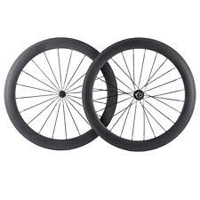 Tubular Carbon Wheels 60mm Carbon Road Wheelset Racing Bike Wheel R13 Matte