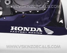 Honda Factory Racing Bellypan Superior Cast  Stickers Fireblade CBR RR VFR SP RC