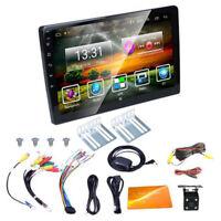 10.1'' HD Car Mp5 Media Player GPS Wifi Bluetooth Dual Din Android 9.1 w/ Camera