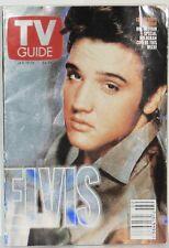 Jan 13-19 2001 Elvis Collector's Edition Hologram TV Guide.