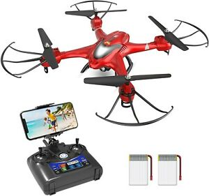 Holy Stone HS200 FPV Drone with Camera 720P HD Live Video, WIFI Quadcopter