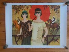 """Lithographie François Batet , """" Hommage a Dufy """"  , signée et numérotée , 200 Ex"""