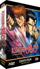 ★Kenshin le Vagabond ★ OAV & Film - Intégrale Gold 3 DVD