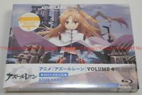 New Azur Lane Vol.4 First Limited Edition Blu-ray Booklet Serial Code Case Japan