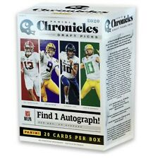 2020 Panini Chronicles Draft Picks Football Blaster Box (1 Auto per Box Average)