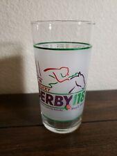 1992 Kentucky Derby Souvenir Churchill Downs Mint Julep Glass 118th Running