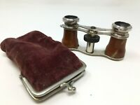 Jummelle de Poche Secret Porte Monnaie Curiosité 1900  Pocket Binoculars