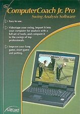 Computer Coach Jr. Pro - Swing Analysis Software NEW