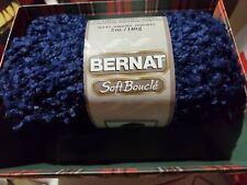 Bernat Soft Boucle Yarn 5 Oz Blue Shades