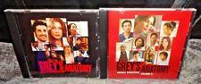 Grey's Anatomy Soundtrack And Volume 2 (CD's, 2-Discs)