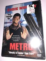 NEW Metro EDDIE MURPHY DVD SEALED COMDEY