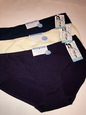 Jockey 2142 Seamfree Hipster Panty Touch of Air Size 7 Large 3 Pairs