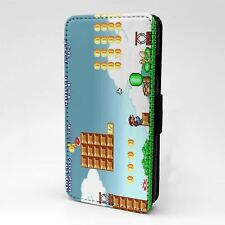 For Apple iPod Touch Flip Case Cover Vintage Mario - G1015