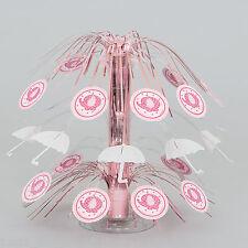"PINK UMBRELAPHANTS Party Girl Tableware Decoration 8.5"" CASCADE CENTREPIECE"