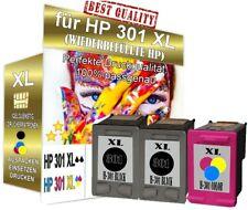 3x Druckerpatronen für HP 301 XL Deskjet 2054a 2050a 3052A Officejet 2620 2624