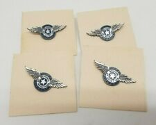VINTAGE HILLER AIRPORT SCHOOL OF AVIATION ( TANNER ) BARRE MA  STERLING PIN