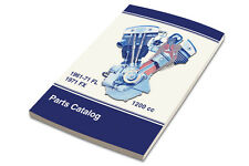 New Parts Manual for Harley 1961-1971 Big Twin, FX, FL, FLH