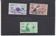 JETHOU: EUROPA 1961 SET of 3 Birds MINT Local Issue