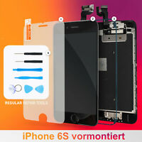 iPhone 6S Display vormontiert Schwarz 3D Touch LCD RETINA Glas Komplett