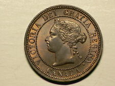 Canada 1882H Large Cent, Obverse #1 Variety, UNC #G5172
