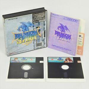 "Dragon Spirit X68000 5 "" 2HD x68 2162"