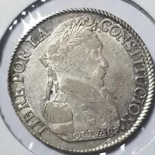 Bolivia 1830 J.L Silver 4 Soles KM 969.1 #103