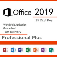 Office 2019 Professional Plus - Product License Key Lifetime 32/64 Bit MS