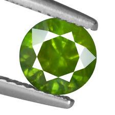 1.32ct 100% Natural earth mined rare green horsetail demantoid garnet russia