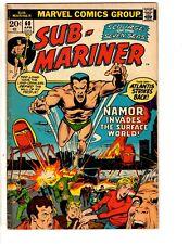 Lot Of 4 Prince Namor Sub-Mariner Marvel Comic Books # 60 61 62 63 VG Range RH2